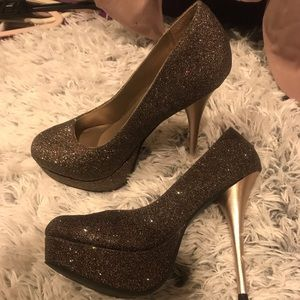 Sparkle Pump Heels